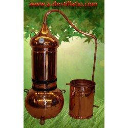 Column Alambic Copper 40L