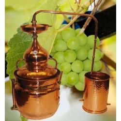 Copper Alambic - Bain Marie 20L