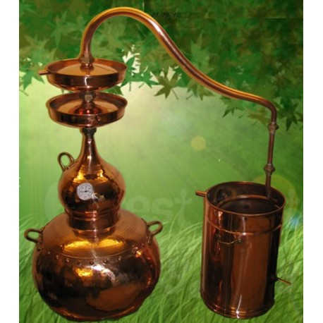 40 L Copper Alembic effect of double distillation