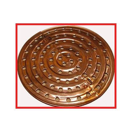 Copper Sieve Tray 40L